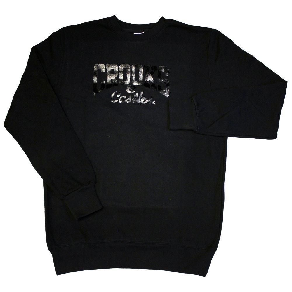 CROOKS & CASTLES Core Sweatshirt Logo Sweatshirt Core schwarz c5974e