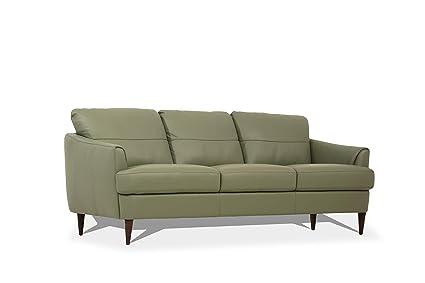 Amazon.com: ACME Furniture 54570 Tacoma Sofa, Moss Green ...
