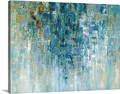 Nan F Gallery-Wrapped Canvas entitled I Love The Rain by greatBIGcanvas