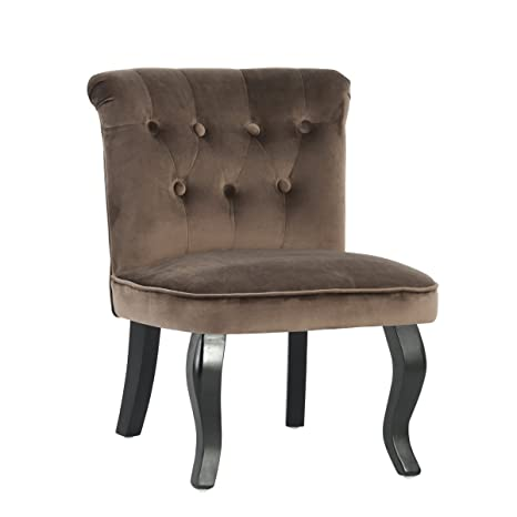 Amazon.com: Shengjuanfeng 2 Accent Chairs Set Button Tufts ...