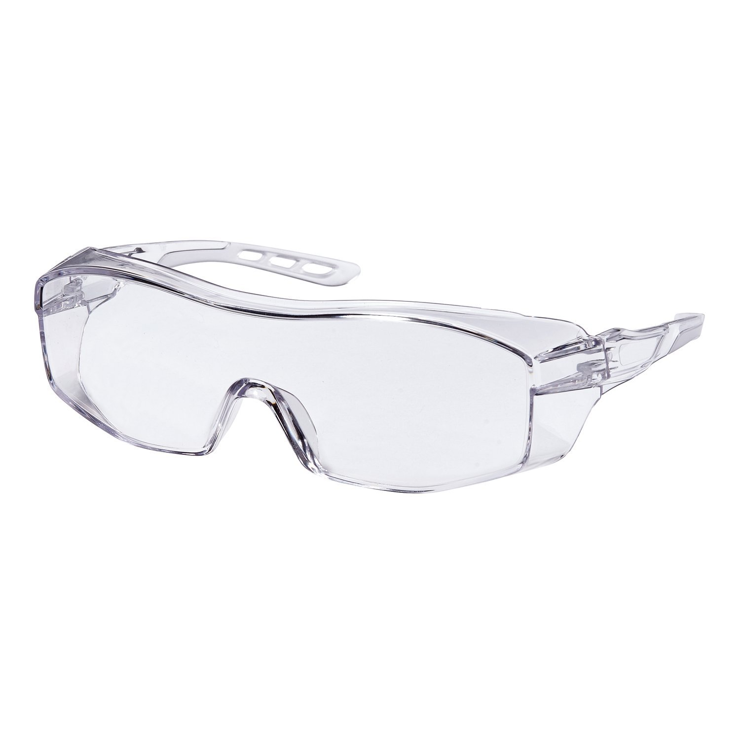 Clear /& Lens Clear 3M CHIMD Frame 3M 47031-WZ6 Eyeglass Protectors with Scratch Resistant Lens