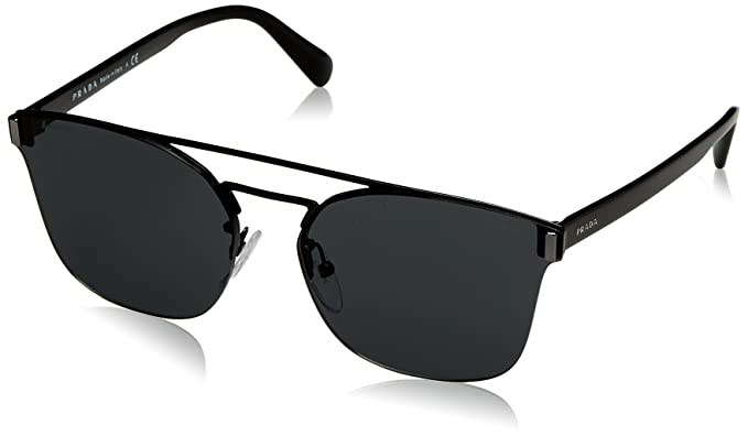 31009362677c Prada PRADA LETTERING LOGO SPR 67TS ABS men Sunglasses: Amazon.ca ...