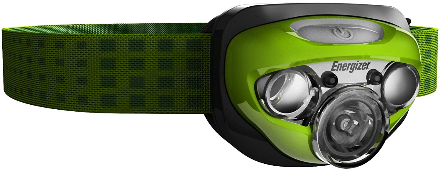 Energizer LED Headlamp with HD Vision Optics 4 Modes Batteries Included