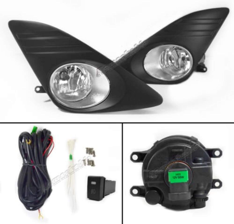 RP Remarkable Power Fit For 2012 2013 2014 Camry Clear Fog Light Kit FL7010