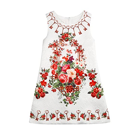 badd901e2a751 Petites robes habillées de bébé d habillement de coton d enfant en bas âge