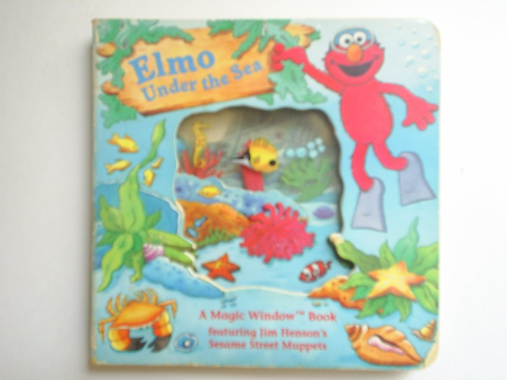 ELMO UNDER THE SEA (Magic Window Books Featuring Sesame