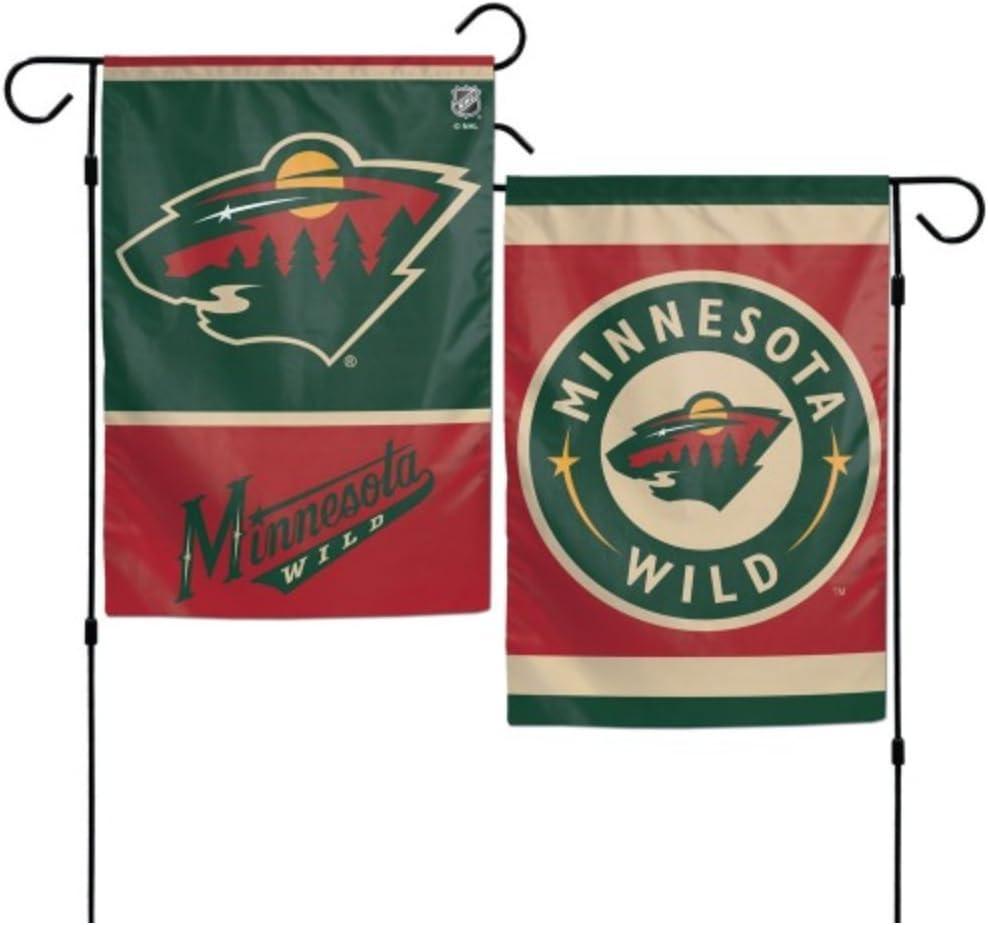 NHL Minnesota Wild 12 x 18 inch 2-Sided Garden Flag