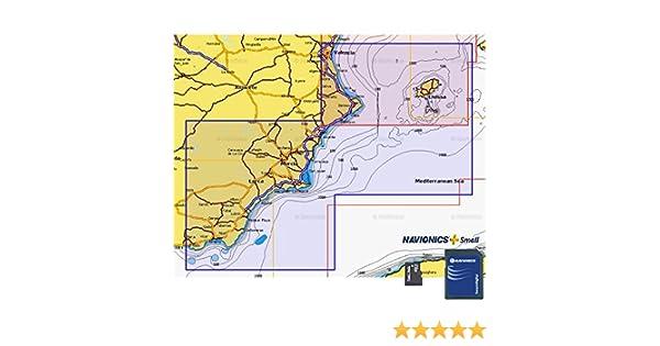 Navionics Plus Small MicroSD/SD Valencia - Almerimar: Amazon.es: Deportes y aire libre