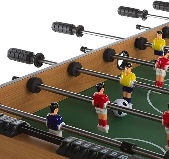 ColorBaby - Futbolín de madera plegable CBGames (85332): Amazon.es ...