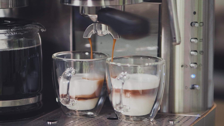 Espressione Em 1040 Stainless Steel Machine Espresso And Coffee Maker 1 5 L Amazon Ca Home Kitchen