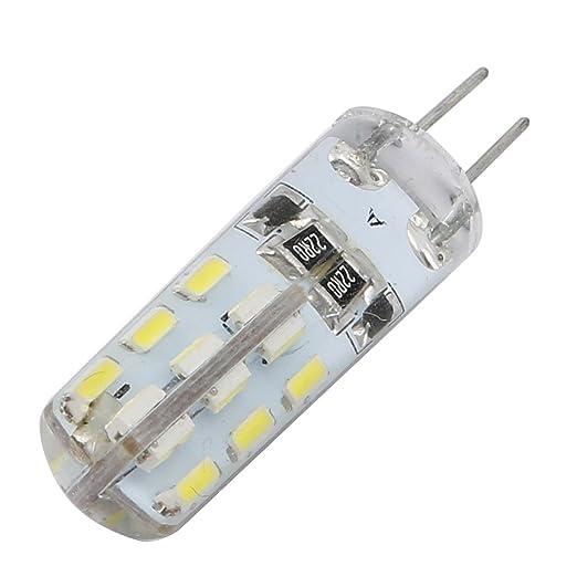 Aexit DC 12V 1.5W G4 24x3014SMD Bombilla LED Lámpara de ...