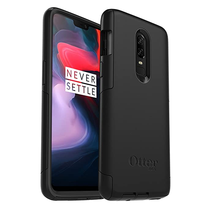 outlet store 0f3b9 757e6 OtterBox Commuter Series Case for OnePlus 6 - Retail Packaging - Black
