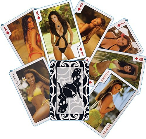 (The Islander Group Playing Cards Girls of Hawaii)
