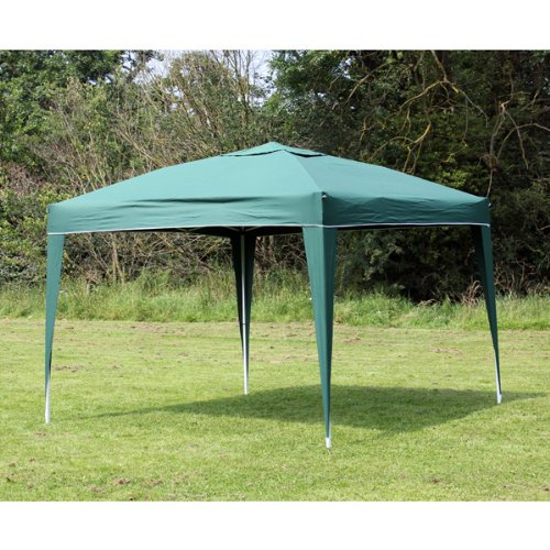 Palm Springs 10 x 10 EZ POP UP GREEN Canopy New Gazebo NO Sidewalls