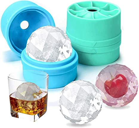 Small Round Ball Mould Drink Sphere Ice Cream Cube Maker Tray Mold Kitchen TNID