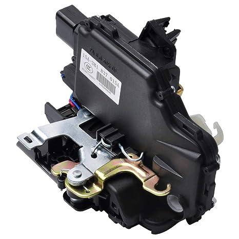otuay Auto 3b1837015 a Puerta candado Cerradura Motor de nivelación Delantero Izquierda con Micro Interruptor para