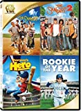 The Sandlot / The Sandlot 2 / Everyone's Hero / Rookie of the Year Quad Feature