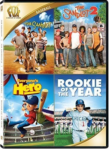 The Sandlot / The Sandlot 2 / Everyone's Hero / Rookie of the Year Quad Feature (Best Quad For The Money)