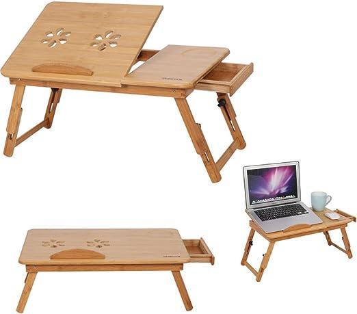 Mesa de ordenador ajustable y plegable, soporte ajustable para ...