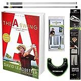David Leadbetter The A Swing Book Golf Training Bundle