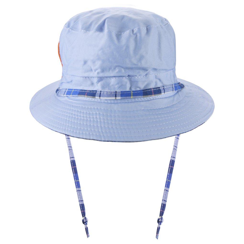Bébés Filles Garçons Chapeau de Soleil Mignon Casquette Visière Anti-UV  Chapeau de Plage  2c67d8f8298