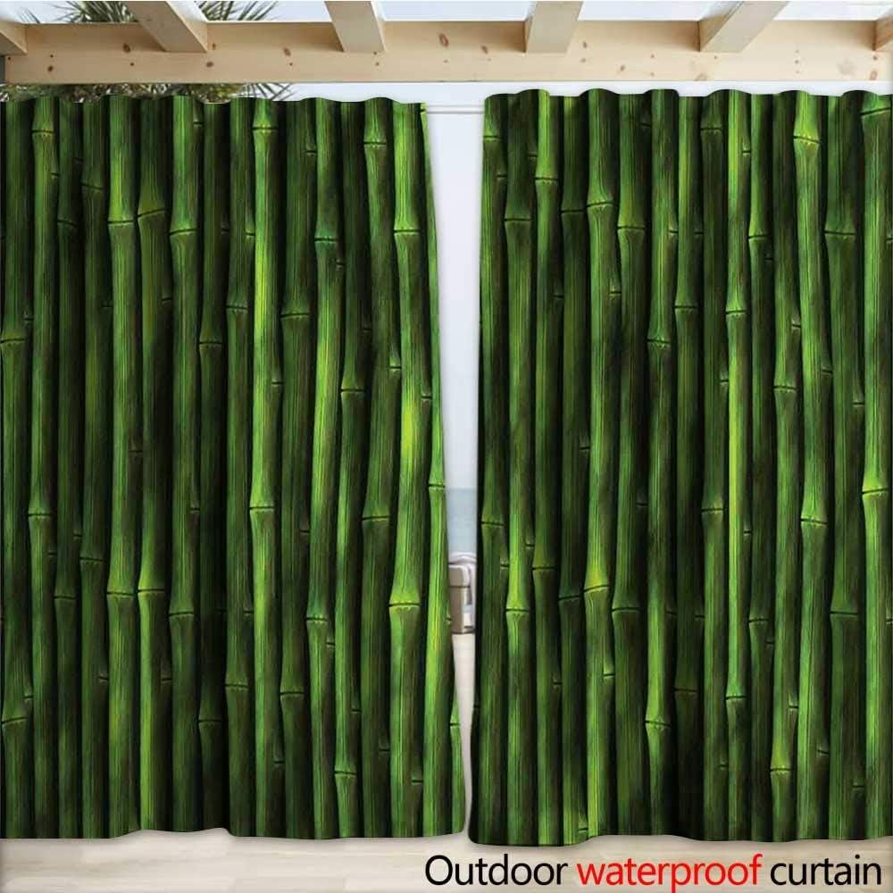 warmfamily - Cortina de bambú para Puerta de Exterior, diseño ...