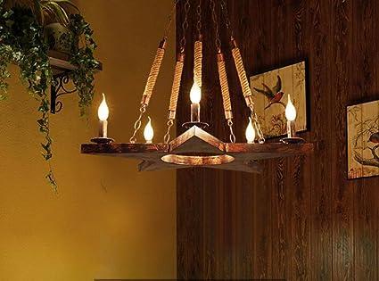 Lampadari stile rustico americano creativo retrò americano soppalco