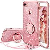 Best Stand Case For IPhones - iPhone 7 Case, Glitter Cute Phone Case Girls Review