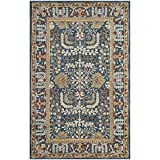 Safavieh Antiquities Collection AT64B Handmade Traditional Dark Blue and Multi Area Rug (4′ x 6′) Review