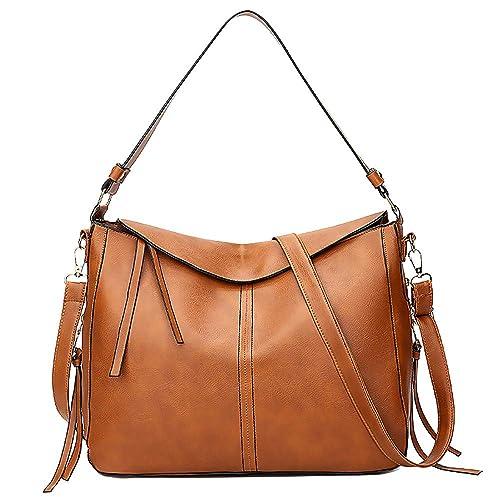 Sac ADESHOP Mode Femmes Big Bag Tassels Sac à BandoulièRe Polyvalent  Messenger Bag Grande Capacité Couleur f7dce6bfb862