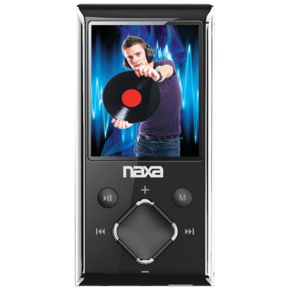 NAXA NMV173NSL 8GB 1.8 LCD Portable Media Players (Silver) consumer electronics Electronics
