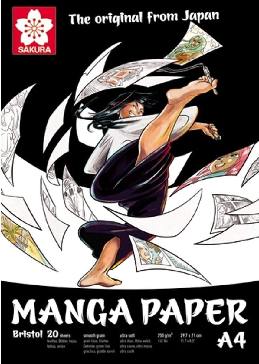 papel premium para manga