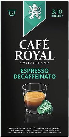 Café Royal, Cápsulas de café (Descafeinado) - 10 de 10 càpsulas (Total