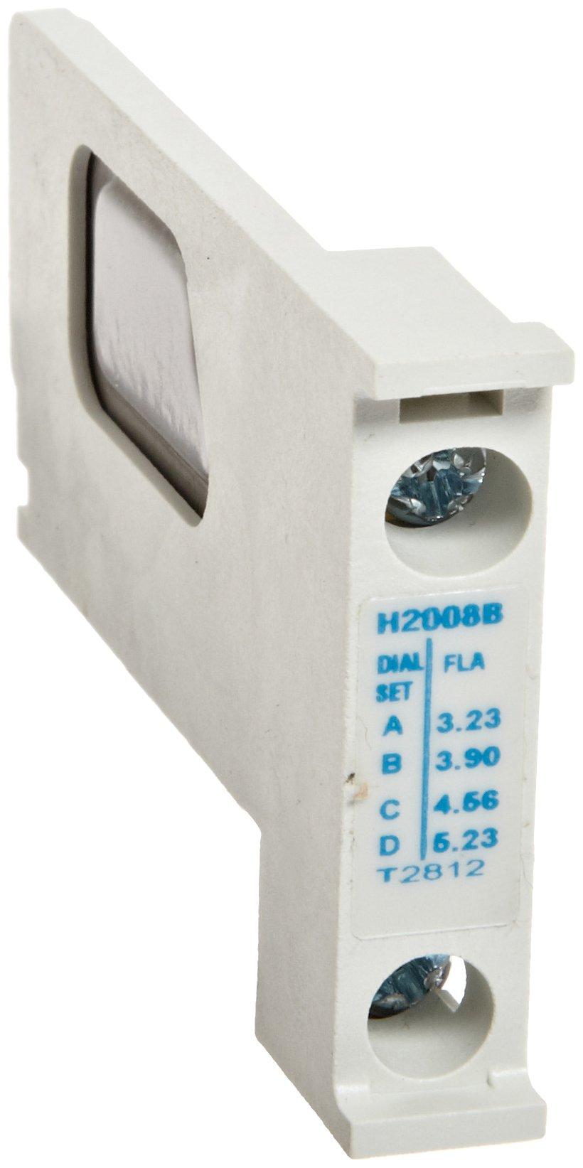 Eaton H2008B-3 Nema Starter Heater Pack, 3.23-5.23 Motor FLA (Pack of 3)
