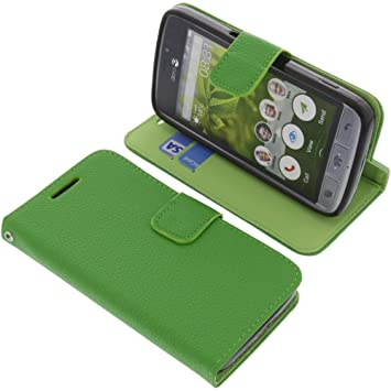best loved 310c4 7a342 Phone case for Doro 8030 book-style green cover