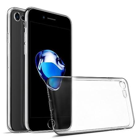 Coque iPhone 7, iPhone 8,  [ ULTRA TRANSPARENTE SILICONE EN GEL TPU SOUPLE ] Housse Etui Coque de Protection avec Absorption de Choc et Anti-Scratch Pour iPhone 7 (2016) et iPhone 8 (2017)