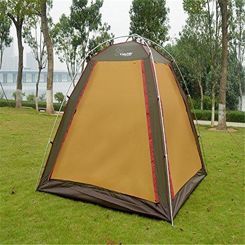 ネットしわ地雷原屋外または家族のキャンプ旅行に適したテレスコピックテント。