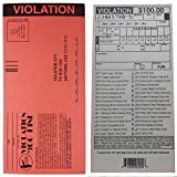 Novelties Wholesale Fake Parking Tickets-set of 100