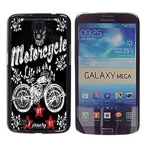 Dragon Case - FOR Samsung Galaxy Mega 6.3 - let me say - Caja protectora de pl??stico duro de la cubierta Dise?¡Ào Slim Fit