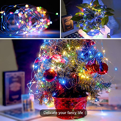 Lovely Led String Lights Itery Multi Color Starry Lights 33ft 100