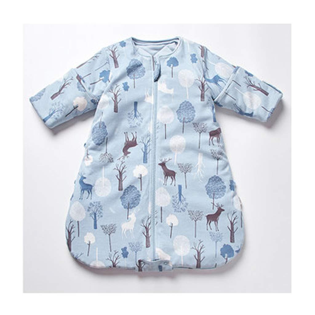 Saco de dormir Xiuyun bebé Cuatro Temporadas niños Saco Anti-Patada niños Grandes (Color : A, Tamaño : 70cm): Amazon.es: Hogar