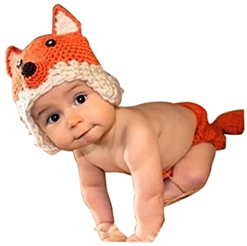 AKAAYUKO Neugeborenes Baby Handgemachtes Häkeln Gestricktes Foto ...