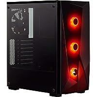 Corsair CC-9011166-WW Carbide SPEC-Delta RGB Tempered Glass Mid-Tower ATX PC Gaming Case - Black