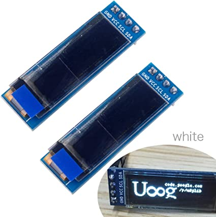 """0.91/"""" 128x32 OLED LCD White//Blue Screen Module SSD1306 For Arduino US"""