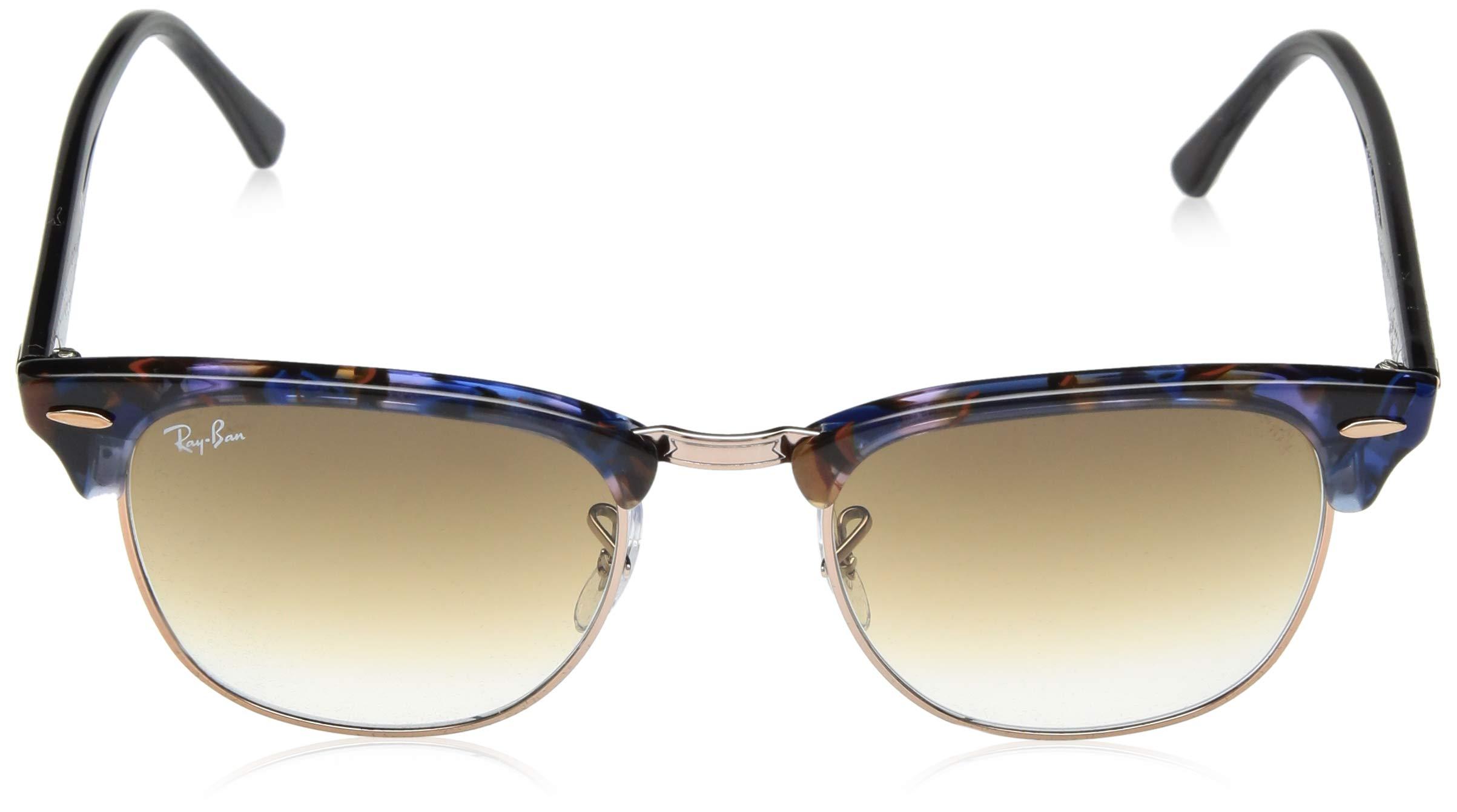719a7fac3789f Ray-Ban-Clubmaster-Non-Polarized-Glass-Lens-Sunglasses