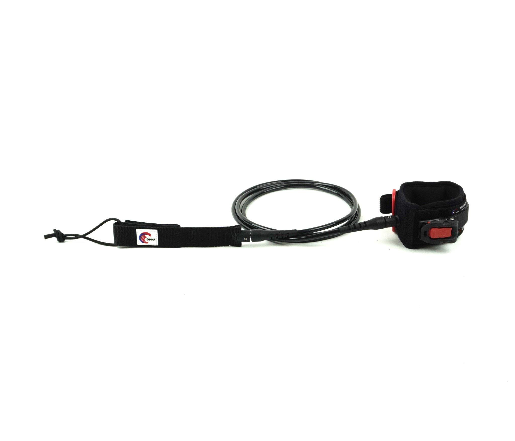 OMNA Tourniquet Shortboard Surfboard Leash by OMNA