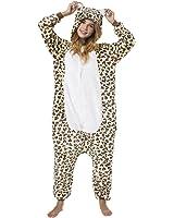 Kigurumi - Tuta Costume Animale, Leopardo, Altezza corporea 175-185cm(XL)