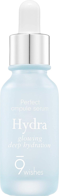 9 wishes Perfect Ampule Serum (Hydra) 0.85Fl. Oz, e25ml