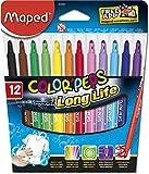 Maped Ofis Ve Kırtasiye 845020Lm Color'Peps Longlife Keçeli Kalem, 12'Li