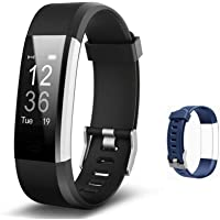 Lintelek Fitness Tracker with Heart Rate Monitor, Activity Tracker with Connected GPS, IP67 Waterproof Smart Fitness…